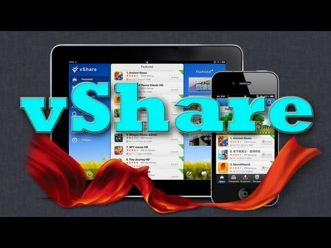 how to use vshare on iphone